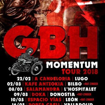 MOMENTUM Tour 2018 GBH y Ratzinger