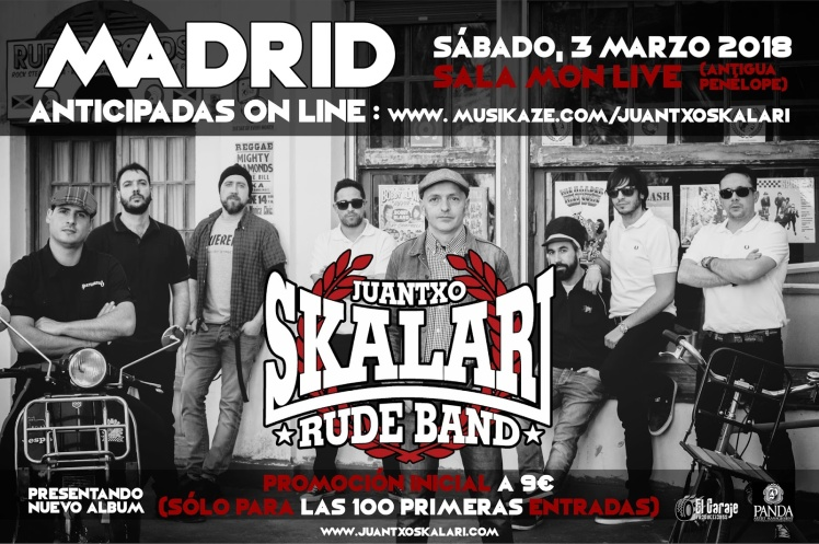 Juantxo Skalari & La Rude Band Madrid