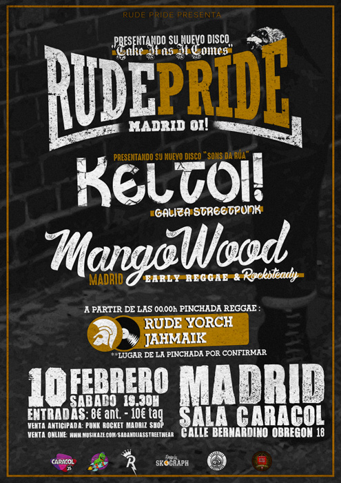 rude pride madrid