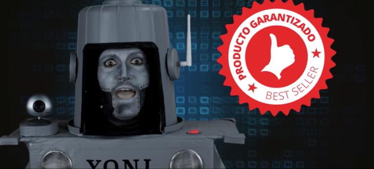 videoclip Narco Yoni el robot