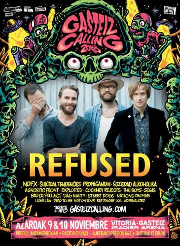 refused Gasteiz Calling