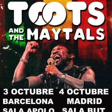 concierto de toots and the maytals madrid
