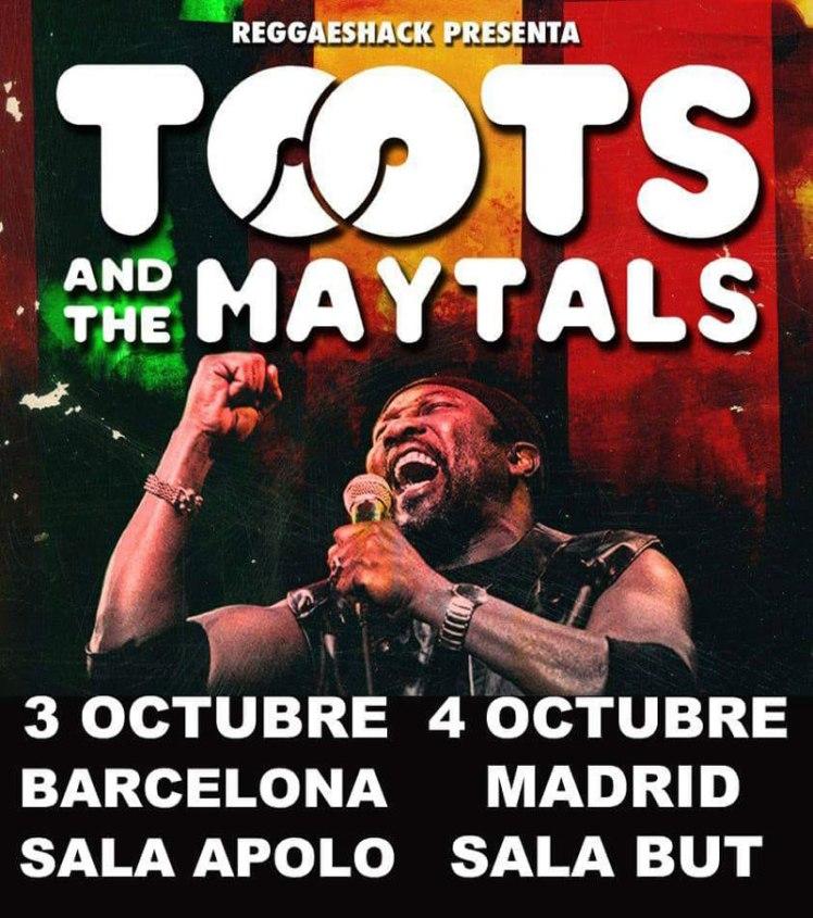 concierto de toots and the maytals madrid