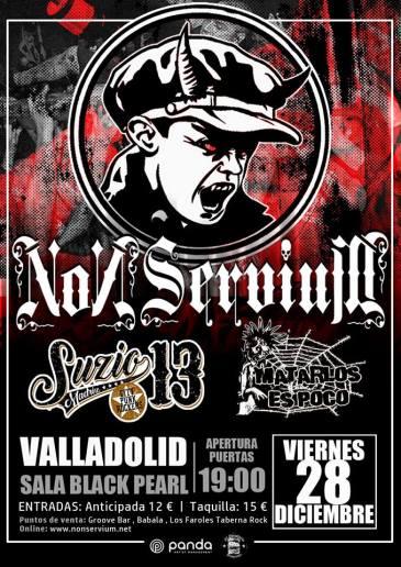 non servium concierto Valladolid