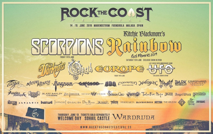 scorpions rock coast