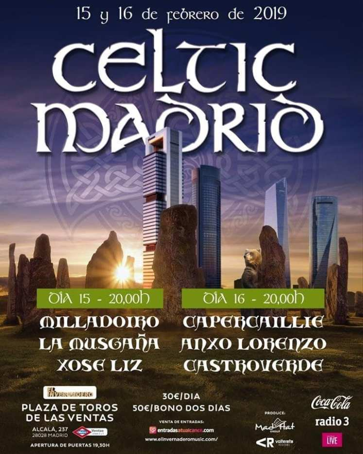 Celtic Madrid 2019