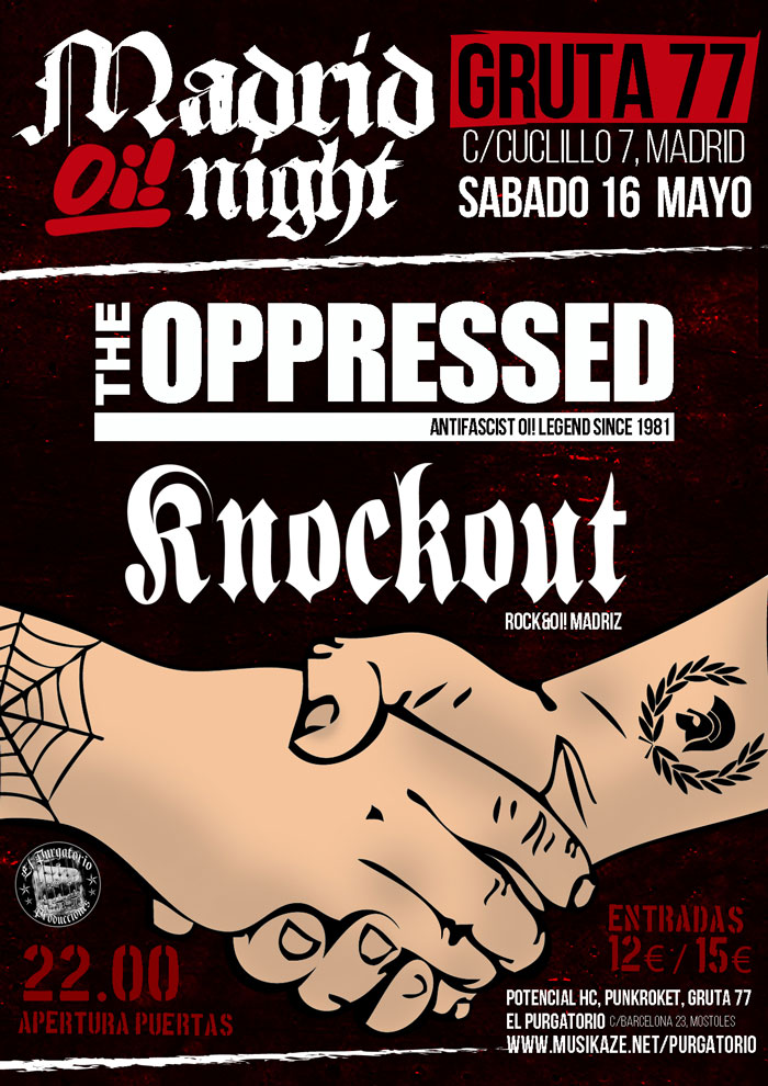The oppressed y knockout madrid